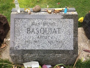 Gravesite Of Jean-Michael Basquiat
