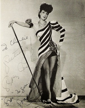 Gypsy Rose Lee- Rose Louise Hovick( January 8, 1911 – April 26, 1970)
