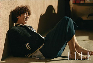 HANG OUT IN L.A. WITH GONG YOO FOR JANUARY 2018 ELLE