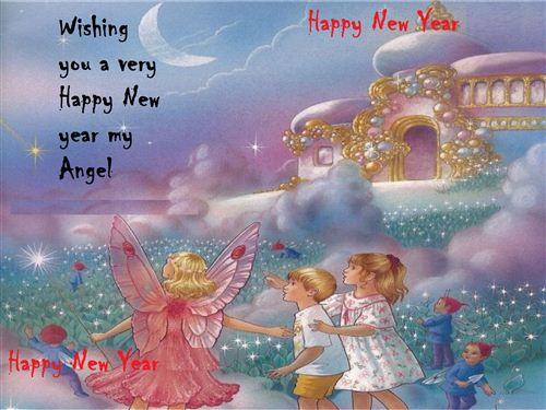 yorkshire_rose wallpaper entitled happy new year my lovely fairy sister