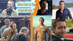 Hawaii Five 0 - Season 8 - Season 9 - Steve McGarrett has to shave !!!!