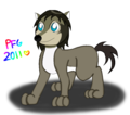 Humphrey colored - alpha-and-omega fan art