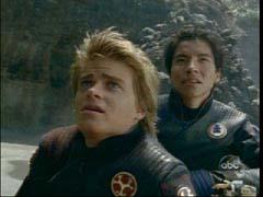 Hunter and Blake Thunder Rangers
