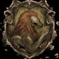 Hybrid House Crest: Gryfferin/Slytherdor - harry-potter fan art