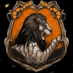 Hybrid House Crest: Huffledor/Gryffinpuff