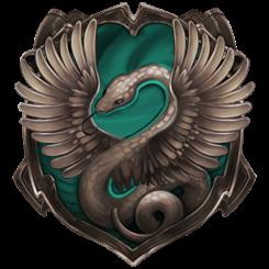 Hybrid House Crest: Slytherclaw/Raverin