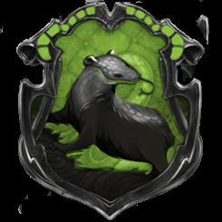 Hybrid House Crest: Slytherpuff/Hufferin