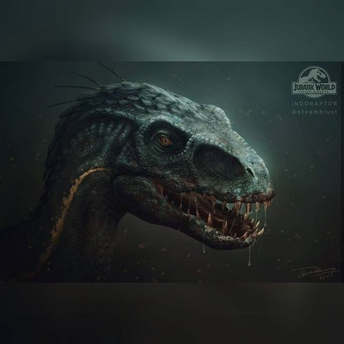 Jurassic World Wallpaper Titled Indoraptor