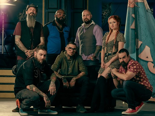 Ink Master wallpaper called Ink Master: Return of the Masters (Season 10) | Team DJ