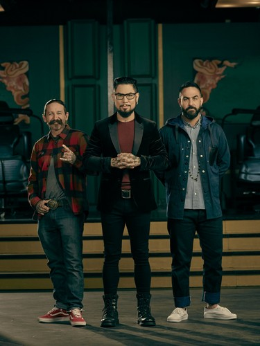 Ink Master wallpaper called Ink Master: Return of the Masters (Season 10) | The Judges