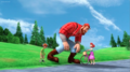 Iris meets Paul Bunyan and Travis - childhood-animated-movie-heroines photo
