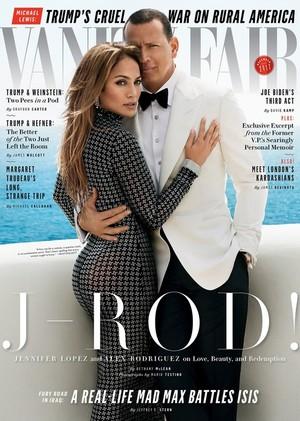 JLo & Arod Cover Vanity Fair