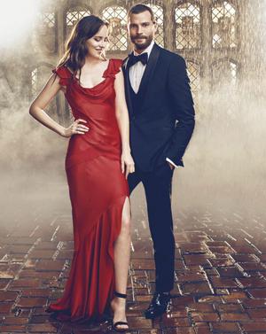 Jamie and Dakota Fifty Shades Freed photoshoot promo