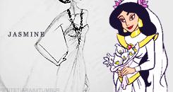 hoa nhài Wedding Dress thiết kế