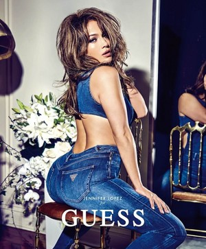 Jennifer Lopez for Guess' Spring 2018 Campaign