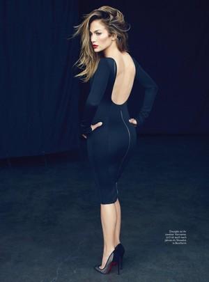 Jennifer Lopez for InStyle Germany Magazine [February 2018]