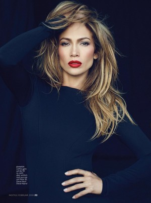 Jennifer Lopez for InStyle Germany Magazine [February 2018]