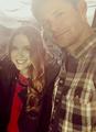 Jensen and Dannel - jensen-ackles photo