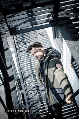 Jeremy Renner - August Man Photoshoot - 2016