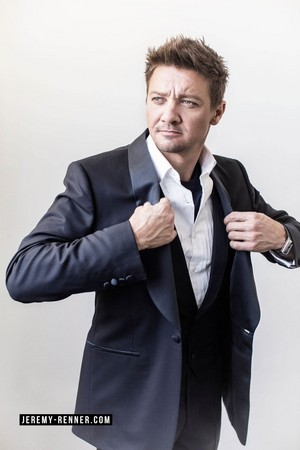 Jeremy Renner - August Man Photoshoot - 2016