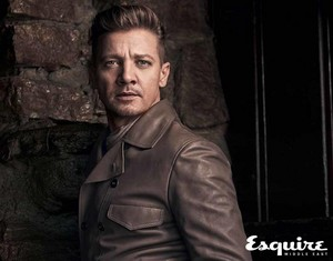 Jeremy Renner - Esquire Middle East Photoshoot - 2017