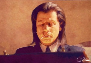 John Travolta Pulp Fiction Adam Darr