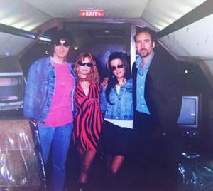 Johnny,Linda,Lisa and Nicolas on the Lisa Marie