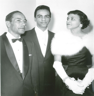 Johnny Mathis And His Parents