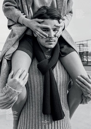 Josh Hartnett and Dree Hemingway - Marc O'Polo Photoshoot - Fall/Winter 2015