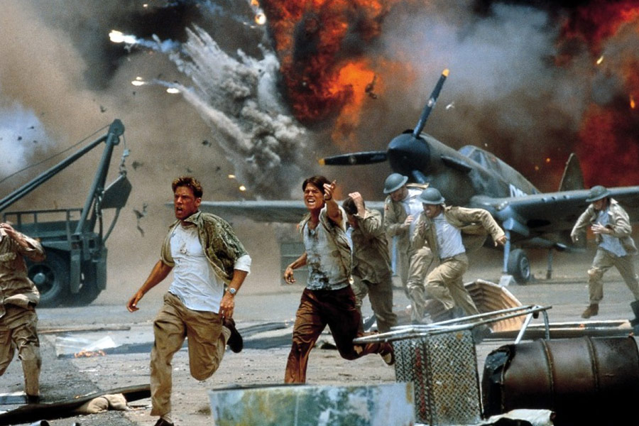 an overview of the movie pearl harbor by michael bay The overly simplistic way that director michael bay portrays the japanese removes the complex framework of socio-economic and political circumstances that led to the bombing of pearl harbor.