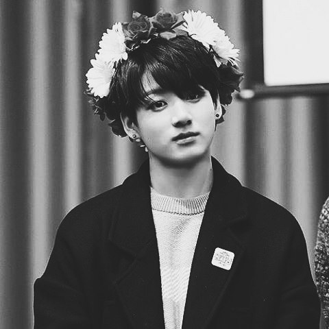 Jungkook (BTS) Hintergrund called Jungkook Black And White