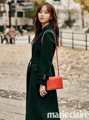 KIM SO HYUN IN JANUARY 2018 MARIE CLAIRE