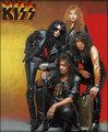 KISS ~Revenge 1992 - kiss photo