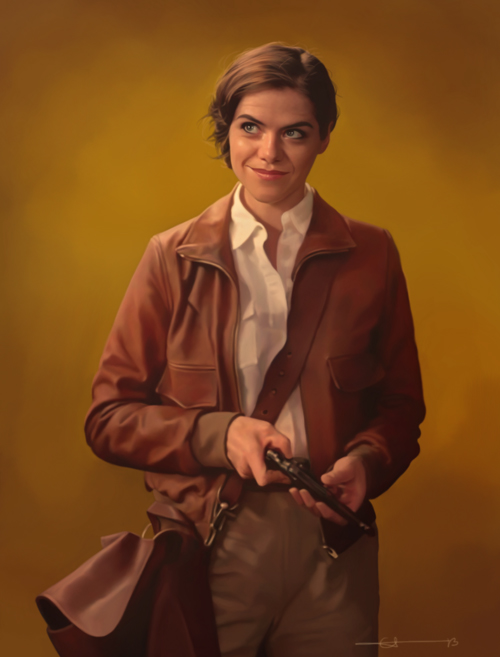 Kaniehtiio Horn as Dorothy Baum in Supernatural