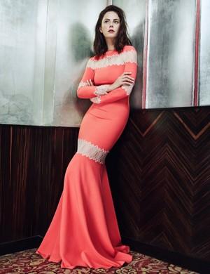 Kaya Scodelario ~ Elle Harper's Bazaar Malaysia ~ December 2017