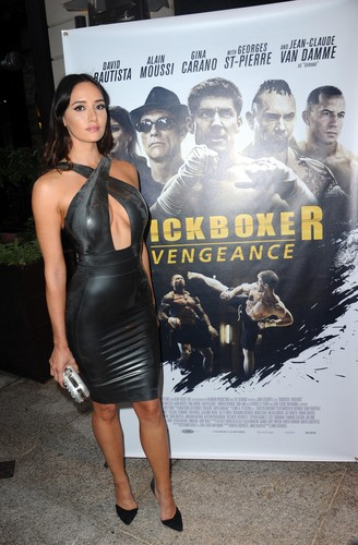 Sara Malakul Lane 壁纸 entitled Kickboxer: Vengeance Premiere