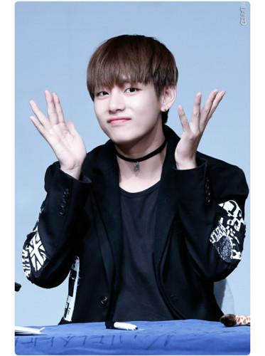 V (BTS) fond d'écran entitled Kim Tae Hyung