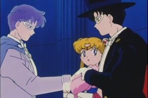 King Endymion Sailor Moon Rini and Tuxedo Mask