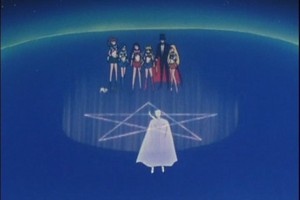 King Endymion Tuxedo Mask and Sailor Scouts