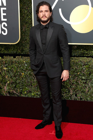 Kit Harington at 2018 Golden Globes Awards