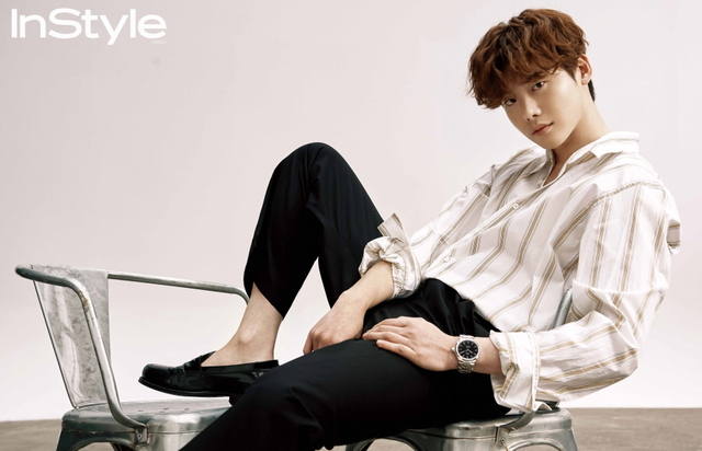 LEE JONG SUK COVERS INSTYLE FOR FEBRUARY 2018