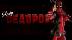 Lady Deadpool Wallpaper - 8