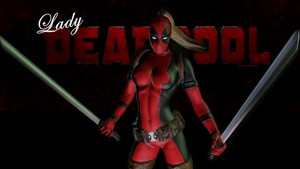 Lady Deadpool پیپر وال - 8a