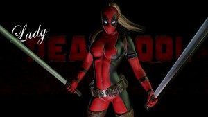 Lady Deadpool پیپر وال - 8b
