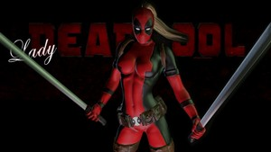 Lady Deadpool 바탕화면 - 8d