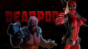 Lady Deadpool দেওয়ালপত্র - Deadpool 6