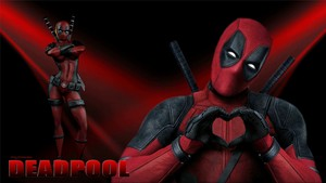 Lady Deadpool Wallpaper - In Love 2