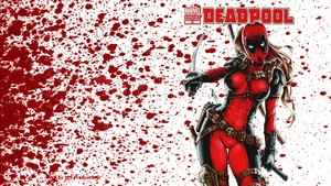 Lady Deadpool 壁紙