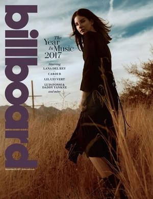 Lana Del Rey ~ Billboard Magazine ~ December 2017