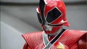 Lauren Morphed As The Red Samurai Ranger